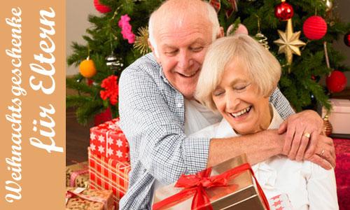 Weihnachtsgeschenke für Eltern und Großeltern