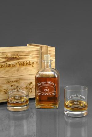 Whiskyglas mit Gravur | Gravierte Whiskygläser gestalten & kaufen