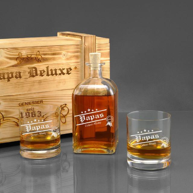 Whiskygläser mit Gravur - Gravierte Whiskygläser als Geschenkidee