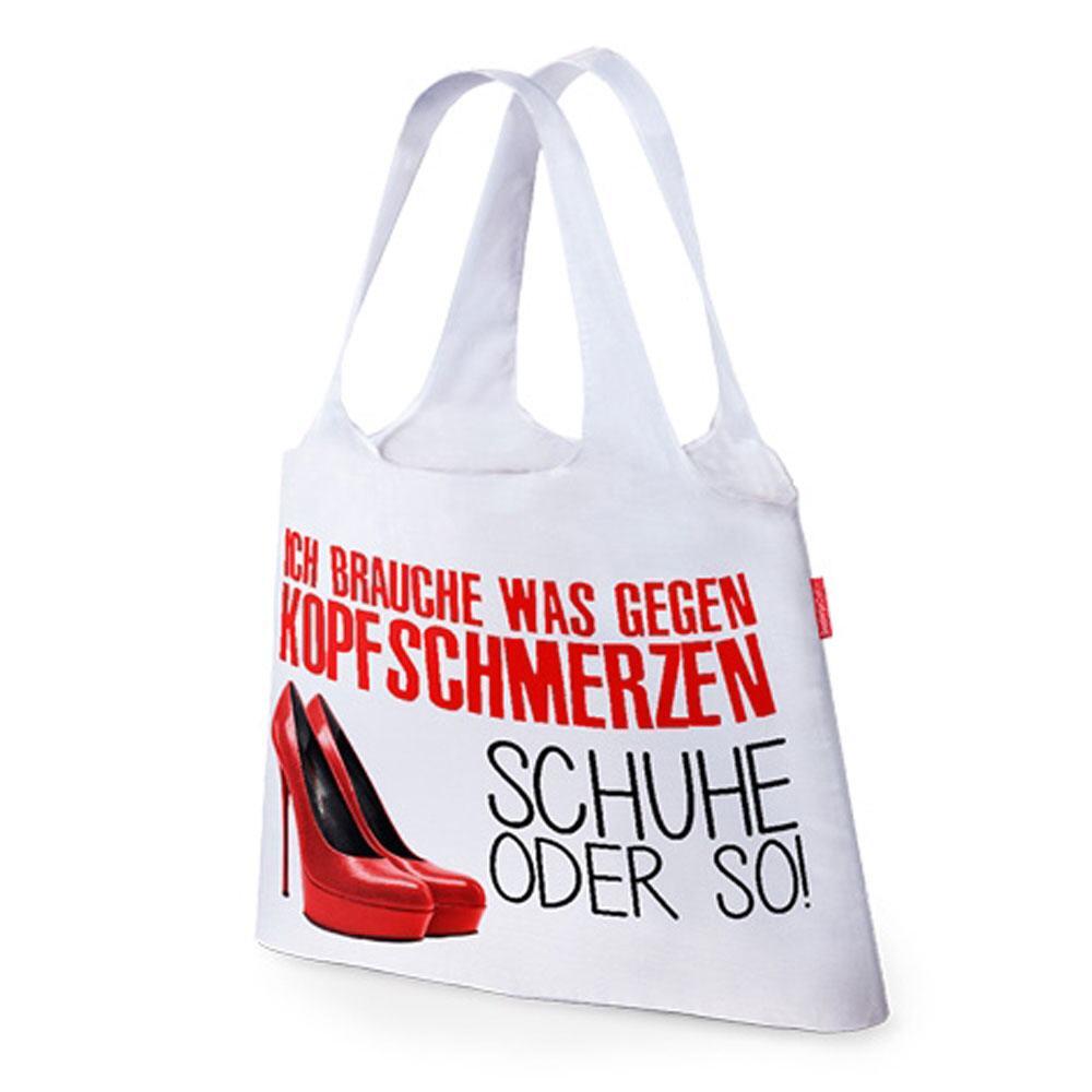 Stylische Tasche To Go Mit Schickem Druck