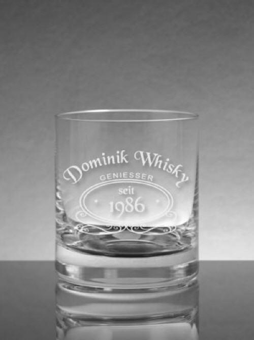 Whiskyglas mit Gravur | Gravierte Whiskygläser gestalten ...