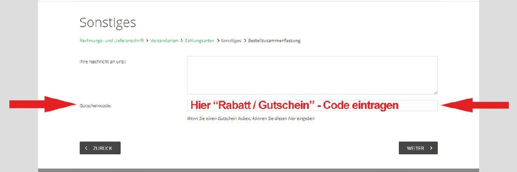 Rabatt Code