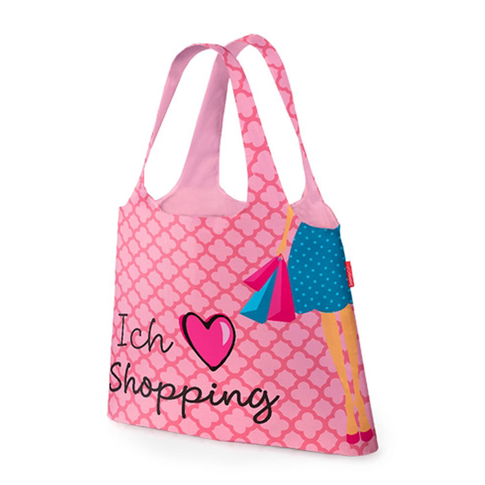 cad51e244b011 Eine stylische Tasche für den kleinen Einkauf zwischendurch . Eine schöne  kleine Geschenkidee mit witzigem Spruch. In der aufgenähten Hülle kann die  stabile ...