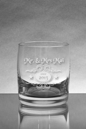 Whiskyglas [SOIREE] mit Whiskylogo 5
